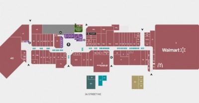 Marlborough Mall plan