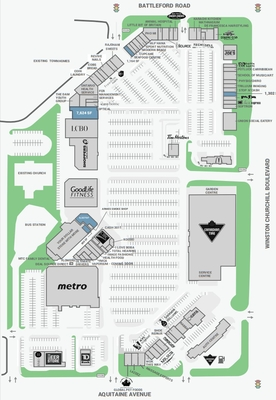 Meadowvale Town Centre plan