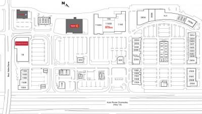 Mega Centre Notre-Dame plan