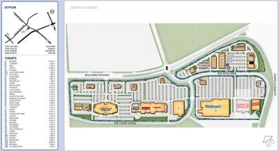 Méga Centre Sainte Foy plan