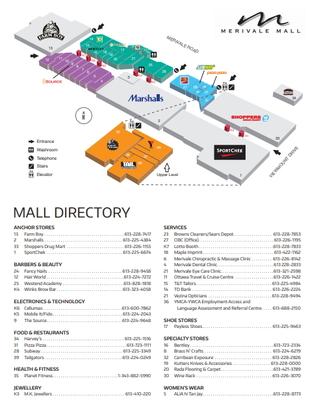 Merivale Mall plan