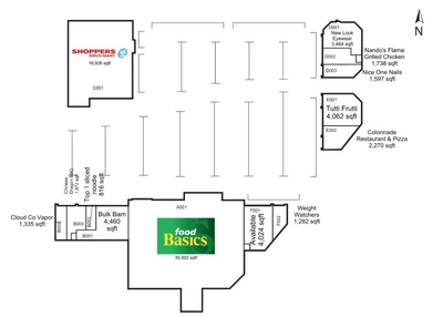 Merivale Market plan