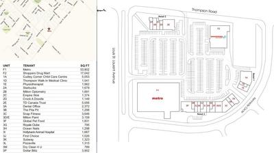 Milton East Centre plan