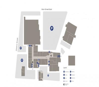 Milton Mall Shopping Centre plan