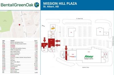 Mission Hill Plaza plan