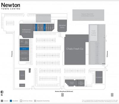 Newton Town Centre plan