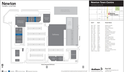 Newton Town Centre plan