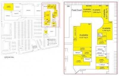 North Bay Mall plan