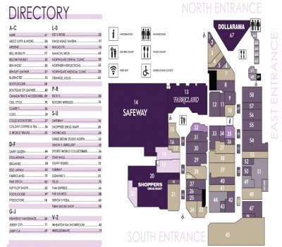 Northgate Mall plan