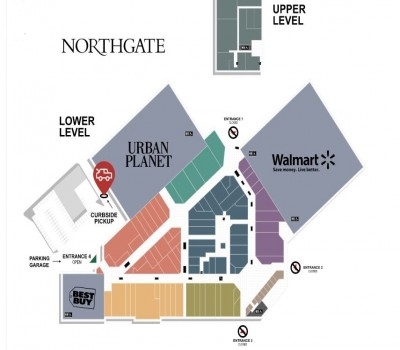 Northgate Shopping Centre plan
