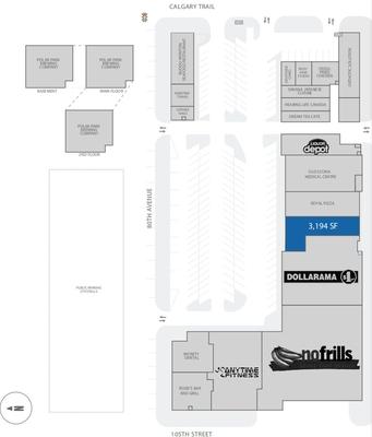 Old Strathcona Shopping Centre plan