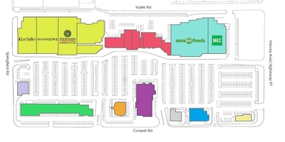 Orchard Plaza Shopping Centre plan