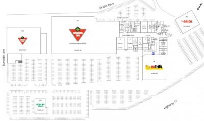 Orillia Square Mall plan