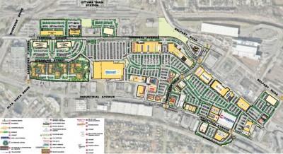 Ottawa Train Yards plan