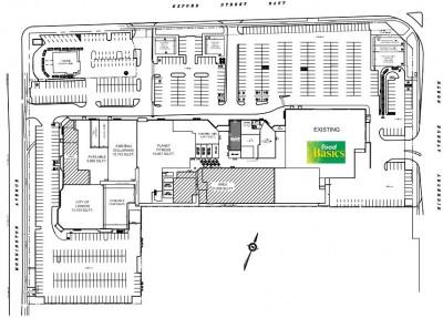 Oxbury Centre plan