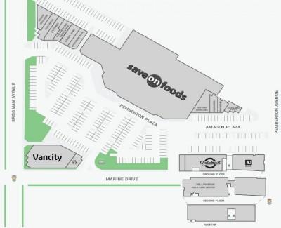 Pemberton Plaza plan
