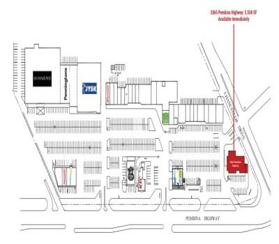 Pembina Village Shopping Centre plan