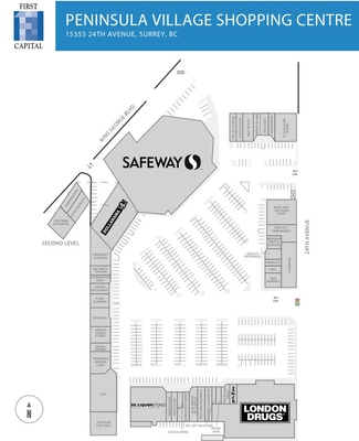 Peninsula Village Mall plan
