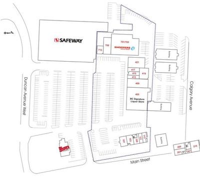 Penticton Plaza plan