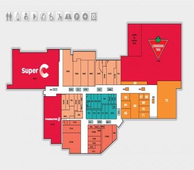 Place Bourassa plan