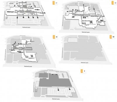 Place Laurier plan