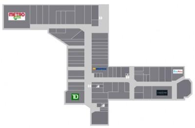 Plaza Pointe Claire plan