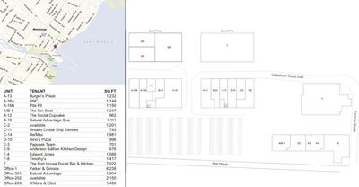 Port Street Market plan