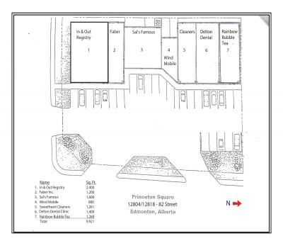 Princeton Square plan