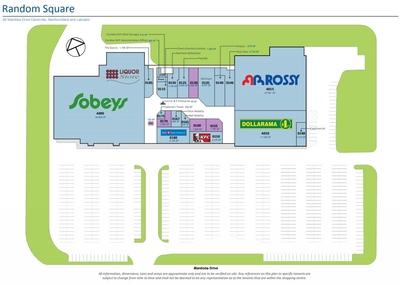 Random Square Mall plan