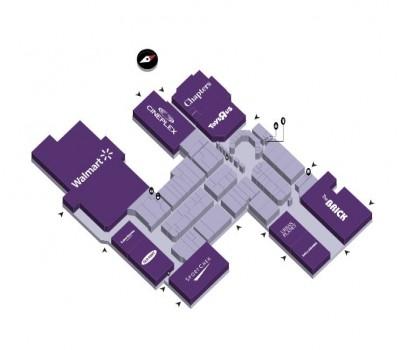 Regent Mall plan