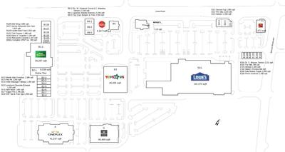 RioCan Centre Belcourt plan