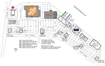 RioCan Centre Milton plan