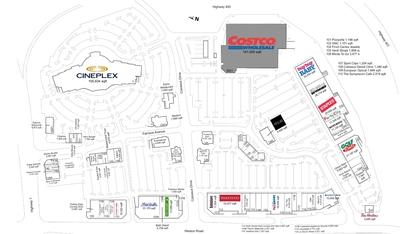 RioCan Colossus Centre plan