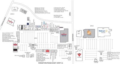 RioCan Durham Centre plan