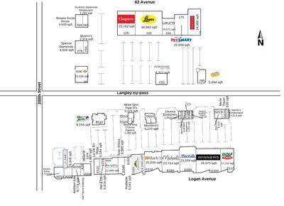 RioCan Langley Centre plan
