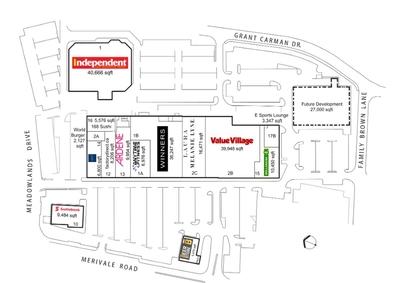 RioCan Merivale Place plan