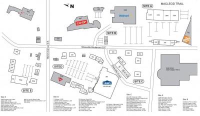 RioCan Shawnessy Centre  plan