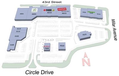 River City Centre plan