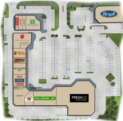 Robertson Centre plan