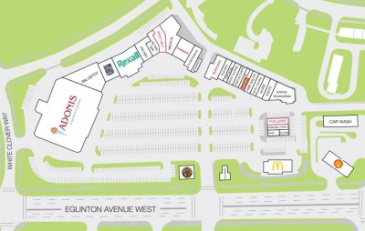 Roseborough Centre plan
