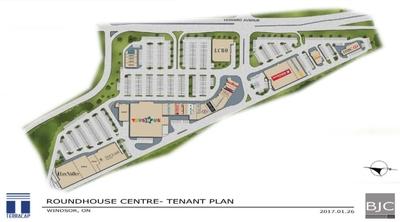 Roundhouse Centre plan