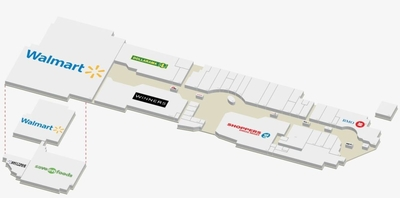Royal City Centre Shopping Mall plan