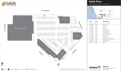 Salish Plaza plan