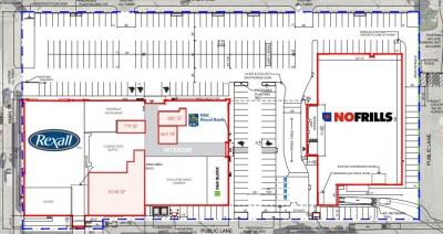Selkirk Town Plaza plan