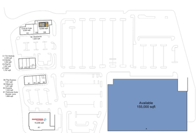 Shoppers City East plan