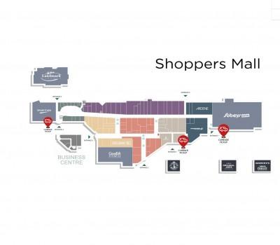 Shoppers Mall Brandon plan