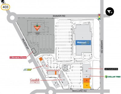 Smartcentres Ancaster plan