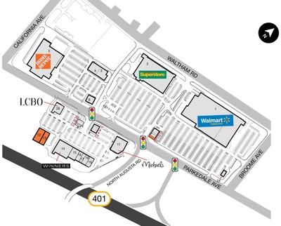 SmartCentres Brampton East plan