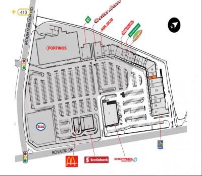 SmartCentres Brampton (Springdale Square) plan