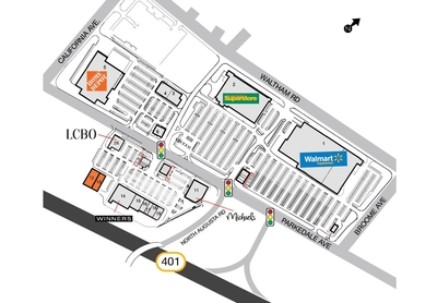 SmartCentres Brockville plan